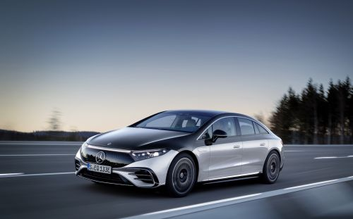 Mercedes-Benz commits to 'all-electric' future. in certain markets