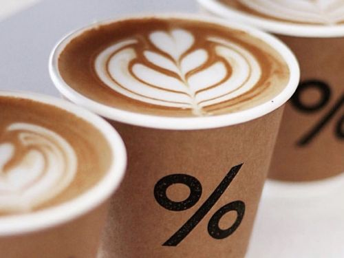 Aggressively Slick Japanese Coffee Brand % Arabica Makes U.K. Debut in Covent Garden