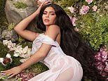 Kylie Jenner channels forest fairy vibes in a sheer dress ahead of Stormi's second birthday party