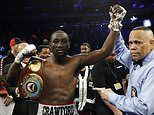 Terence Crawford stops Egidijus Kavaliauskas in ninth round to defend world title and stay unbeaten