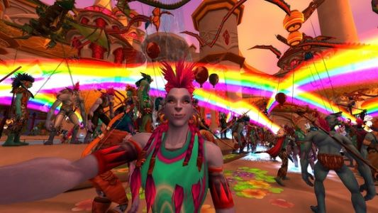 WoW players covered Azeroth with rainbows for LGBTQ+ charity