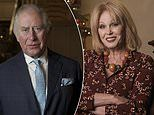 Joanna Lumley says Prince Charles and Camilla made her 'so welcome' at Clarence House