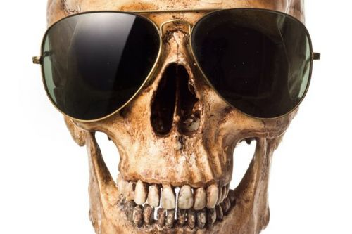 Sunglasses wearing skull on family's mantelpiece turns out to be missing man