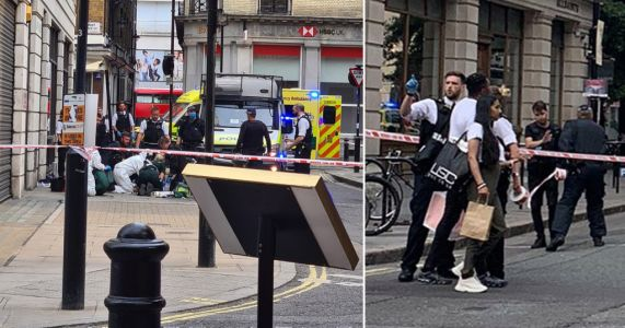 Teenager dies after being stabbed in front of shoppers in broad daylight