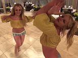 Britney Spears shares another at home dance video