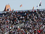 Fans roar back on day of defiance in Sochi with crowd of 20,000 attending across the weekend
