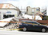 Building collapses in Hurlstone Park Sydney, crushing car and causing traffic chaos but no injuries