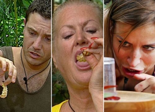 I'm A Celebrity Ditches Live Critters In Eating Trials For The First Time