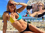Pip Edwards shows off bikini body on holiday with Michael Clarke