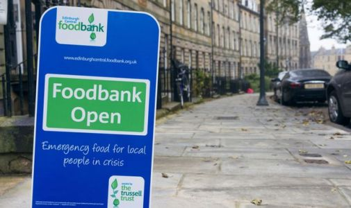 Food banks: Charity hands out highest-ever number of emergency parcels