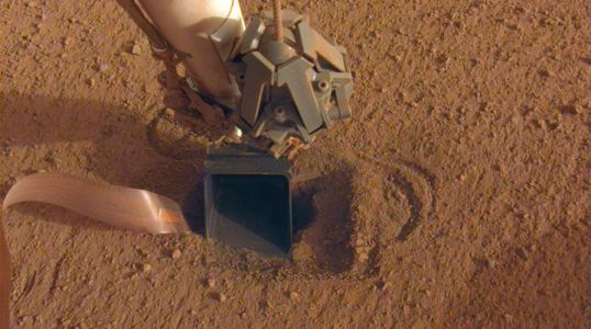 NASA Calls a Time Out as InSight's Heat Probe Hits Another Snag on Mars