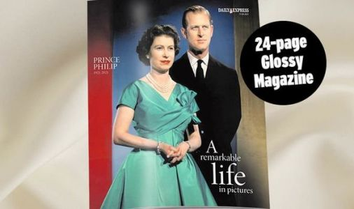 FREE 24-page glossy magazine commemorating Prince Philip's remarkable life on Saturday