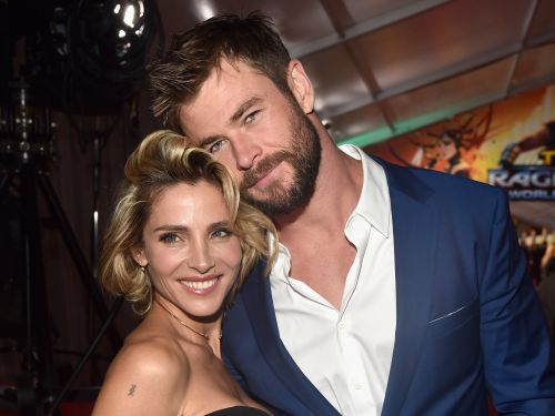 Chris Hemsworth's wife banned him from bringing any more of Thor's hammers home because he takes 5 from each movie