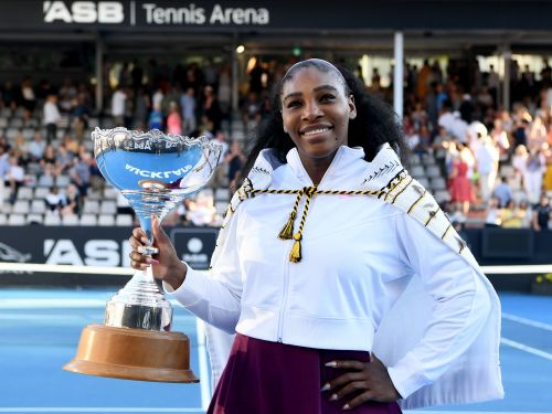 Serena Williams won her first tennis tournament since 2017 and is donating the $43,000 prize to Australian bushfire relief