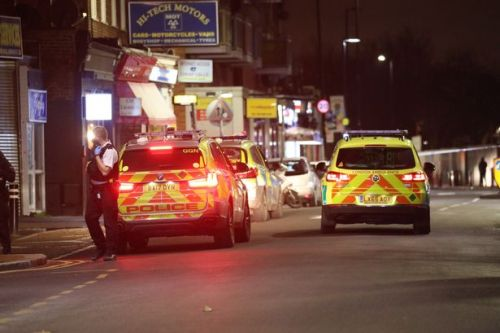 Teen fighting for life after being stabbed in street as police hunt knifeman