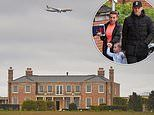 The Rooneys' dream £20m 'Morrisons' mansion is built on Manchester Airport's flight path