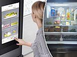 Mum shows off her incredible fridge which tells you when the foods are set to expire