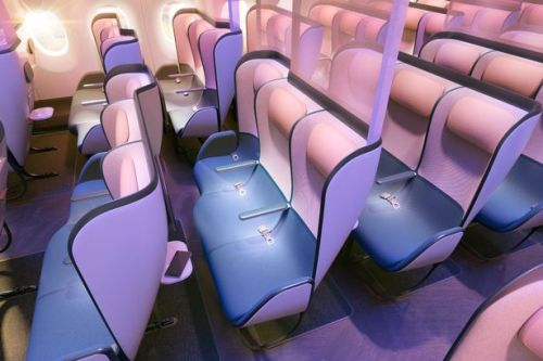 New economy cabin design shows what flights could look like post-pandemic