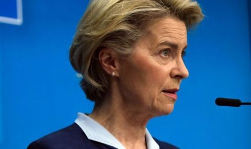 Ursula von der Leyen lashes out at UK and US in desperate bid to justify EU vaccine block
