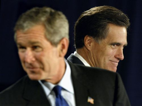 George W. Bush and Mitt Romney won't support Trump in 2020, while some GOP officials consider voting for Biden