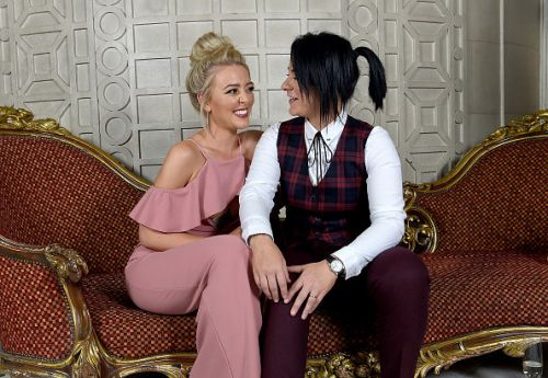 X Factor's Lucy Spraggan is undergoing fertility treatment with her wife while fostering 12 kids
