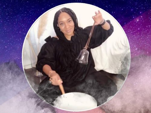 A peek into the average day of a real new-age witch