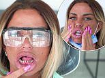Katie Price shows off her TERRIFYING real teeth as she gets her new veneers in Turkey