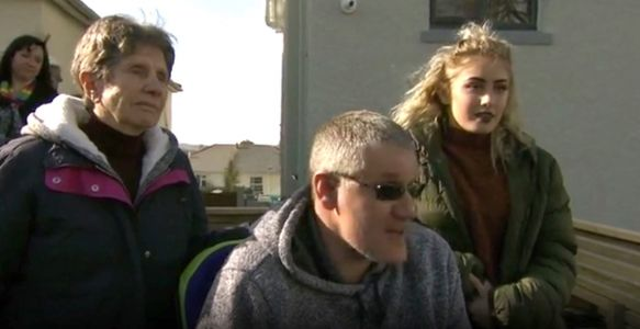 Disabled dad left staring at 'blank wall' after DIY SOS makeover