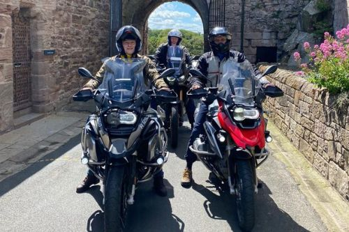 To Northumberland on the Honda Africa Twin Now which way is it again?