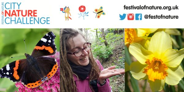 Take part in the 2019 City Nature Challenge 26th-29th April!