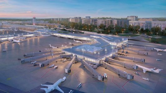New terminal set to open at Reagan National airport in 2021
