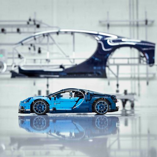 Luxury Lego: building a Bugatti Chiron is not child's play
