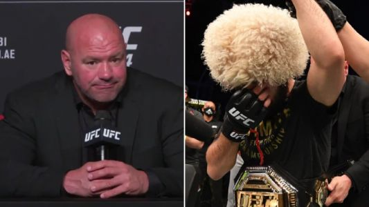 UFC president Dana White reacts to Khabib Nurmagomedov retirement as Jon Jones gives him pound-for-pound crown