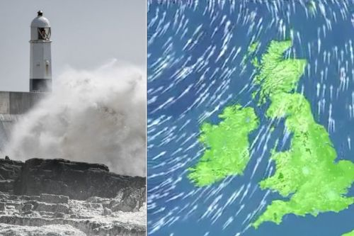 UK weather forecast: Gales force winds to lash Britain before 29C heatwave