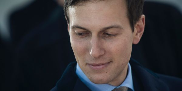 Jared Kushner likes to show White House visitors the spot where Monica Lewinsky used to sneak into Bill Clinton's study