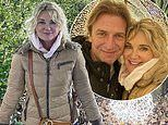 Anthea Turner cosies up to fiancé Mark Armstrong at Kew Gardens Christmas event