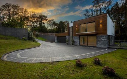 Watch: Video tour of beautiful bespoke build set in Cultra woodland