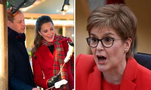 'Spikey' Nicola Sturgeon sparked backlash as SNP urged Kate and William to cancel trip