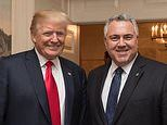Australian ambassador to the US Joe Hockey dishes on his relationship with Donald Trump at farewell