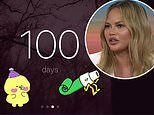 Chrissy Teigen celebrates 100 days of sobriety and says she feels 'so good' and 'clearheaded'