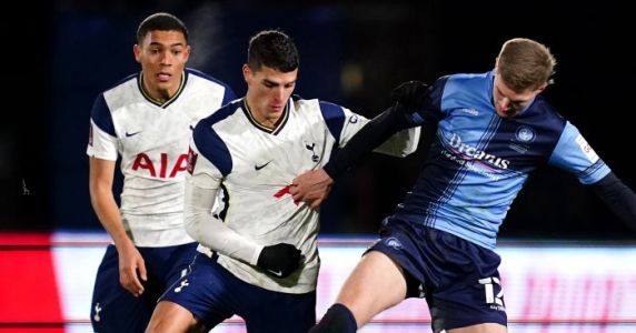 Late goal blitz seals Tottenham FA Cup progress after Wycombe rout