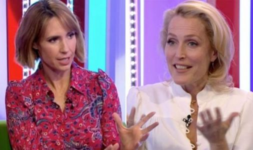 The One Show fans 'turn off' after 'awkward' Gillian Anderson and Alex Jones clash