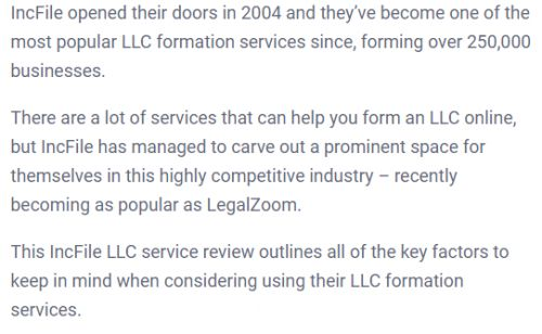 IncFile Reviews 2020: Is It The Best LLC For You?
