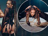 Little Mix's Jade Thirlwall turns up the heat in suspenders and sheer top in Sweet Melody video