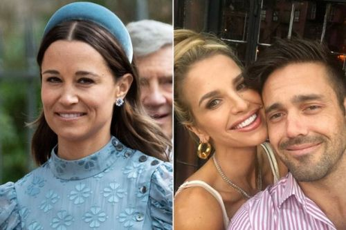 Vogue and Spencer Matthews snubbed sister-in-law Pippa Middleton from second wedding