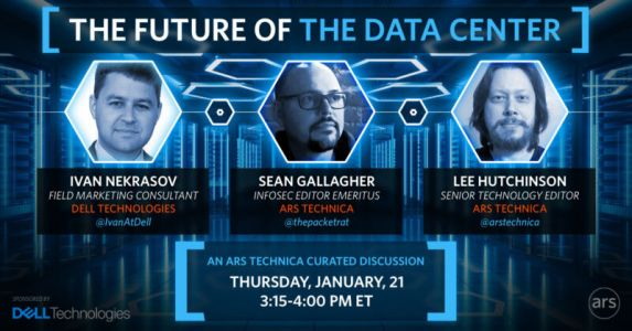 Ars online IT roundtable tomorrow: What's the future of the data center?