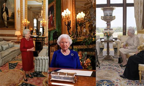 The Queen and Prince Philip's home is the world's largest occupied castle - see inside