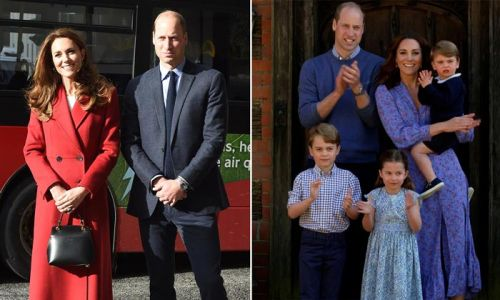 Prince William and Kate Middleton's plans revealed for the October half-term