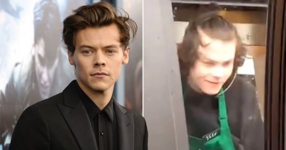 Harry Styles fans are going wild for his Starbucks doppelganger - and we can see why
