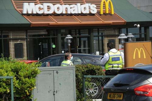 Drivers risking £1,000 fines and 6 points when ordering McDonald's drive thrus
